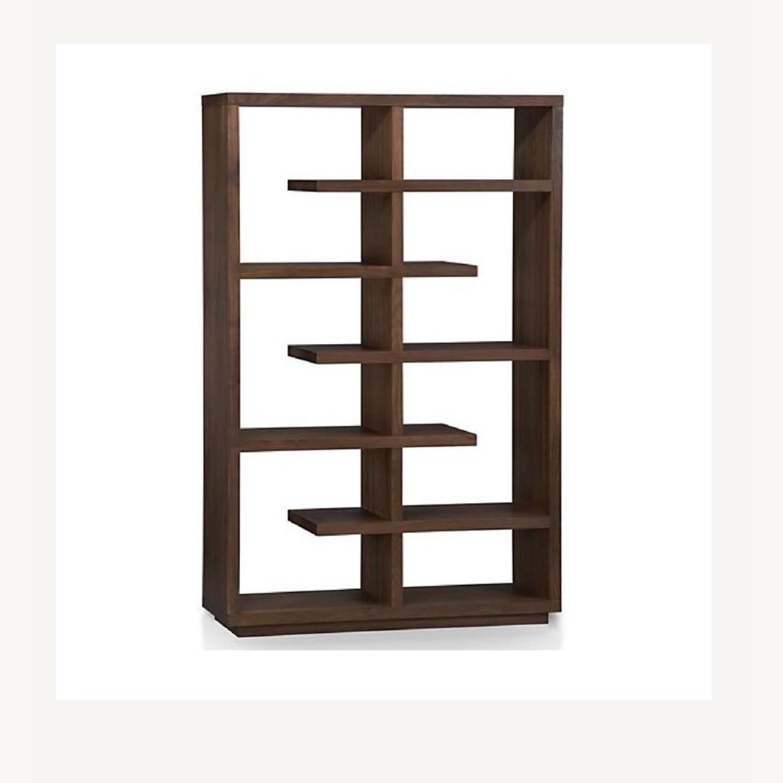Crate & Barrel Elevate Ebony Bookshelf - image-3