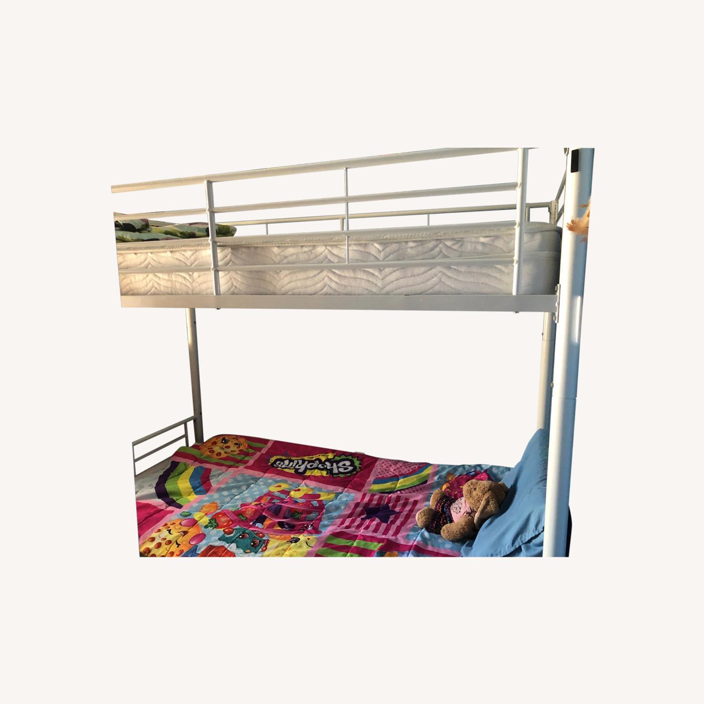 Walker Edison Kids Twin Bunk Beds - image-0