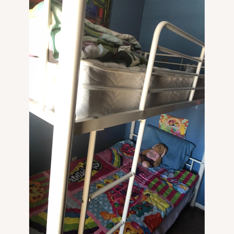 Walker Edison Kids Twin Bunk Beds - image-1