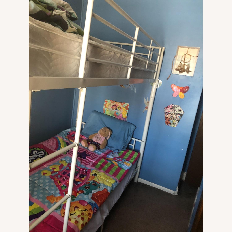 Walker Edison Kids Twin Bunk Beds - image-4