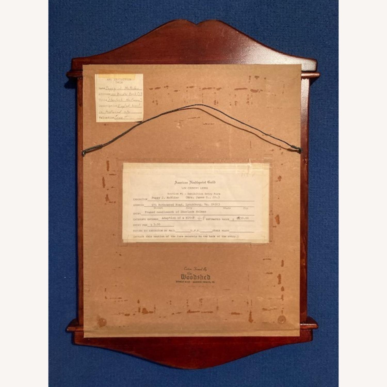 Sherlock Holmes Pub sign - Hand needlepointed - image-3