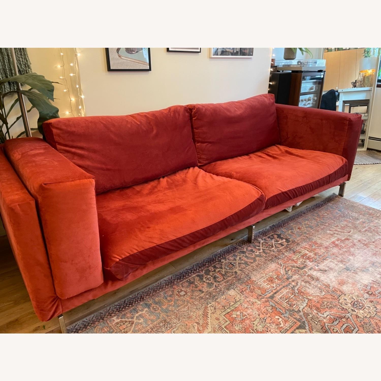 IKEA Nockeby 3 Seat Sofa + BEMZ Velvet Cover - image-9