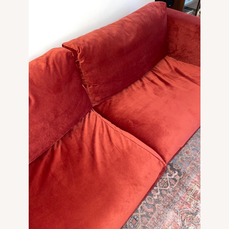 IKEA Nockeby 3 Seat Sofa + BEMZ Velvet Cover - image-8