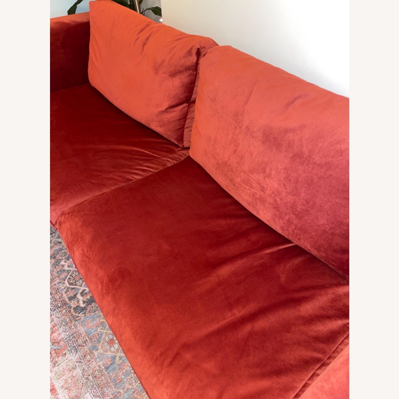 IKEA Nockeby 3 Seat Sofa + BEMZ Velvet Cover - image-7