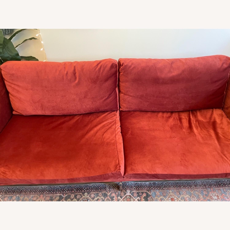 IKEA Nockeby 3 Seat Sofa + BEMZ Velvet Cover - image-10