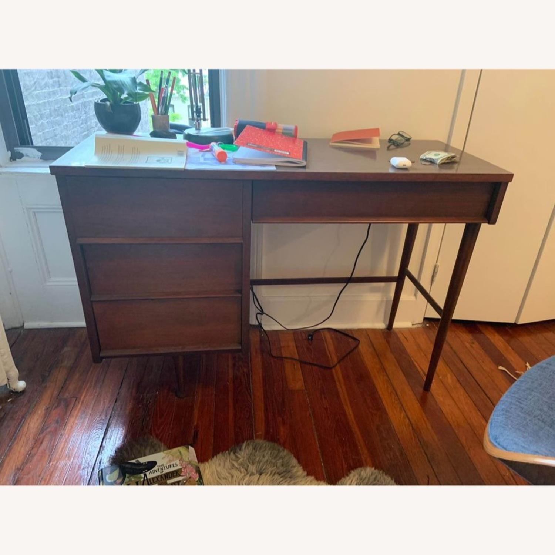 Vintage MCM Desk - image-1