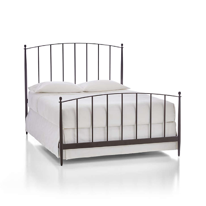 Crate & Barrel Mason Iron Bed - image-5