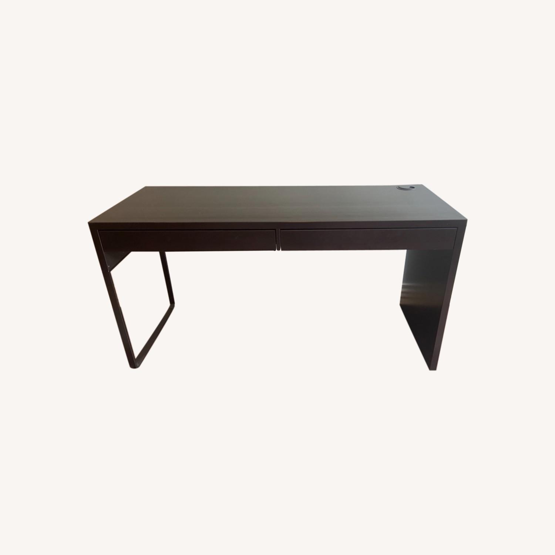 Wenge Desk/Vanity - image-0