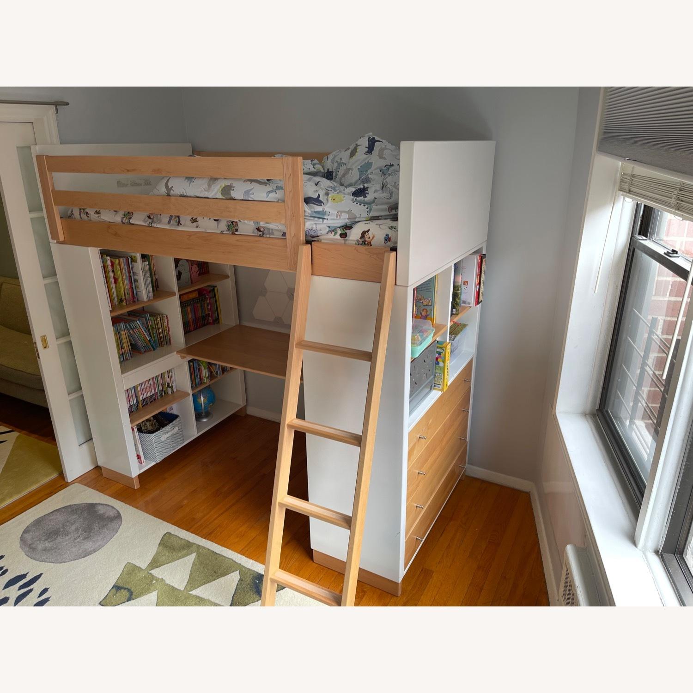 Room & Board Moda Loft Bed with Desk - image-2