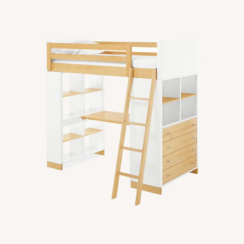 Room & Board Moda Loft Bed with Desk - image-0
