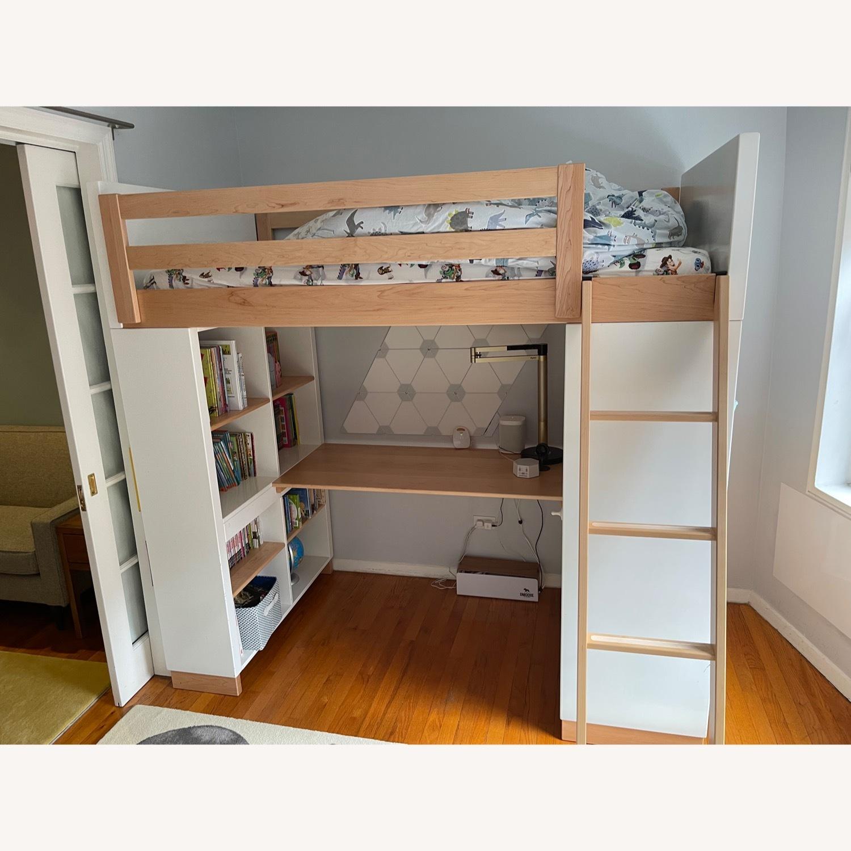Room & Board Moda Loft Bed with Desk - image-5