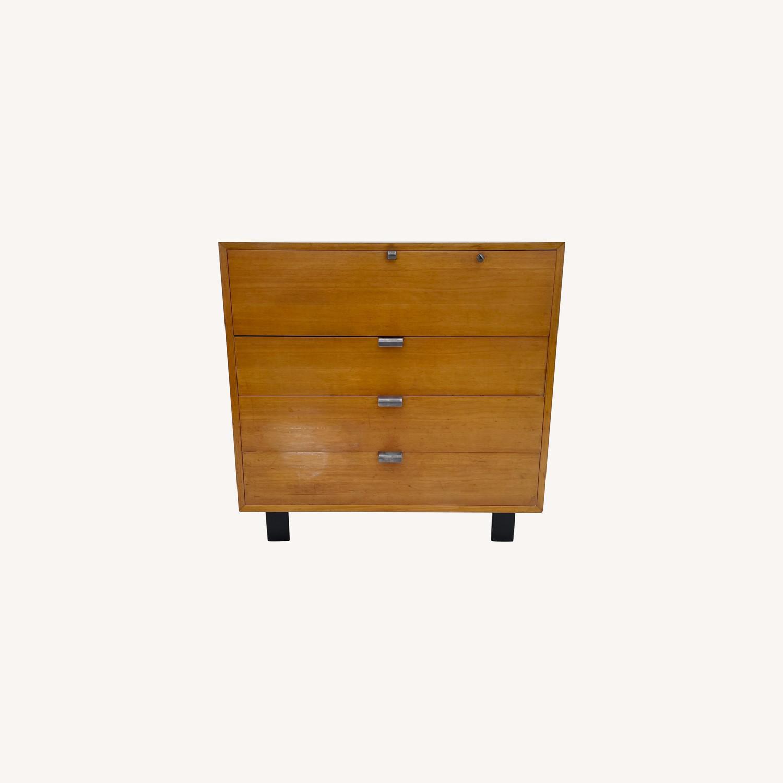 Mid-Century Dresser with Desk for Herman Miller - image-0