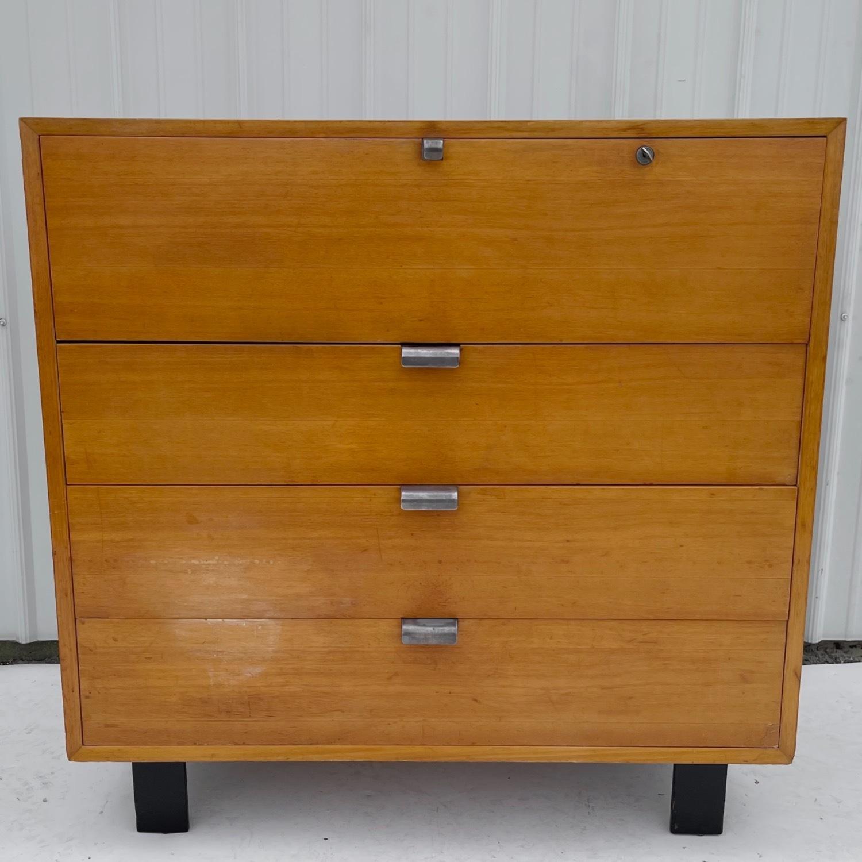 Mid-Century Dresser with Desk for Herman Miller - image-1