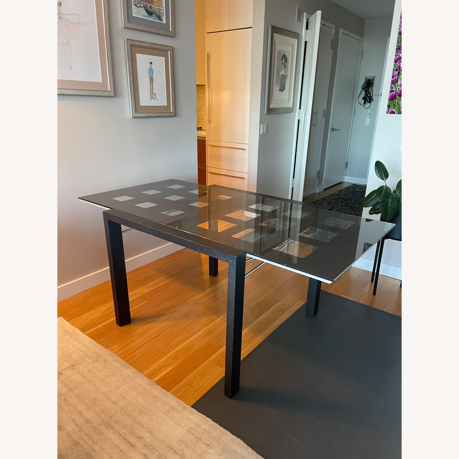 BoConcept Expandable Glass Dining Table - image-3