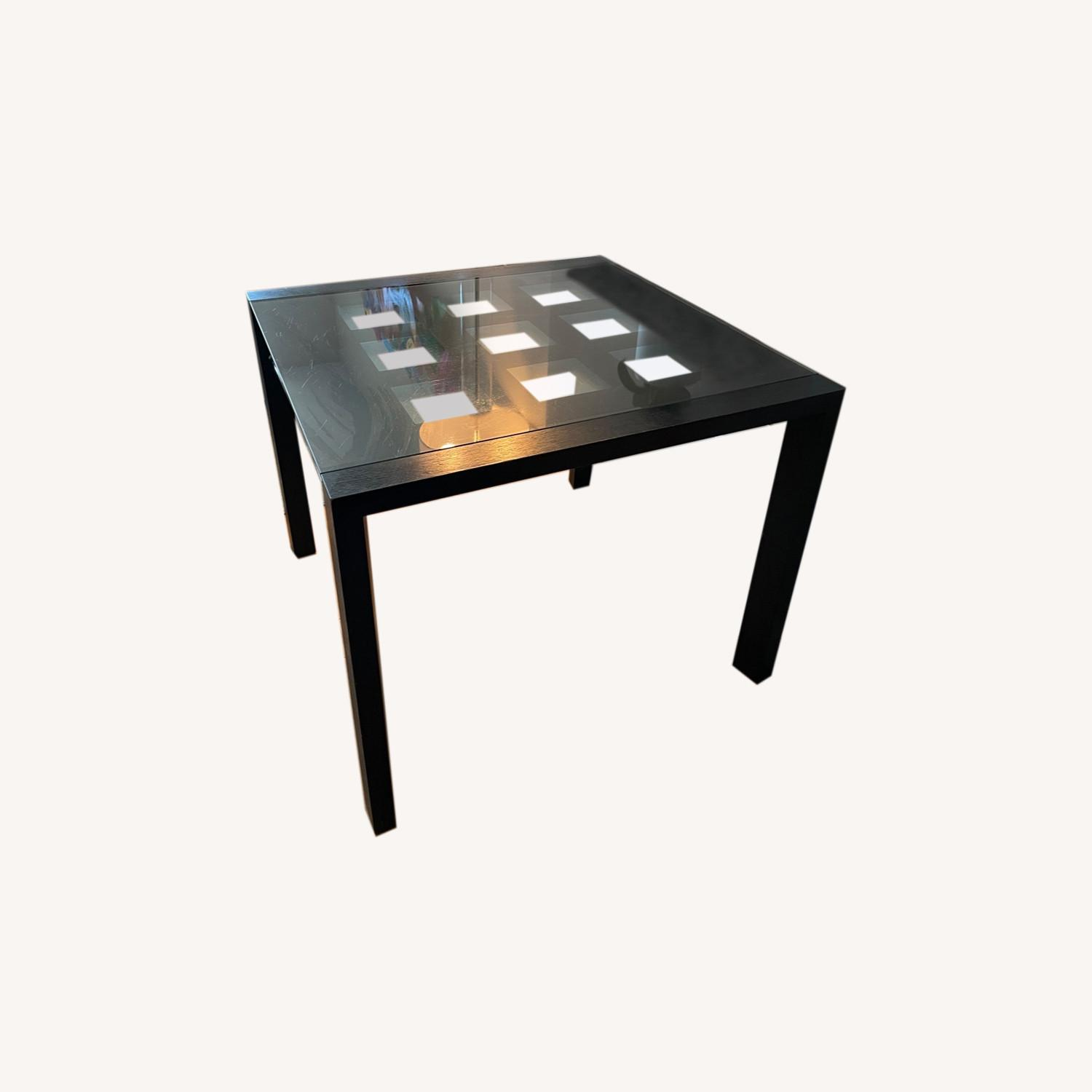 BoConcept Expandable Glass Dining Table - image-0