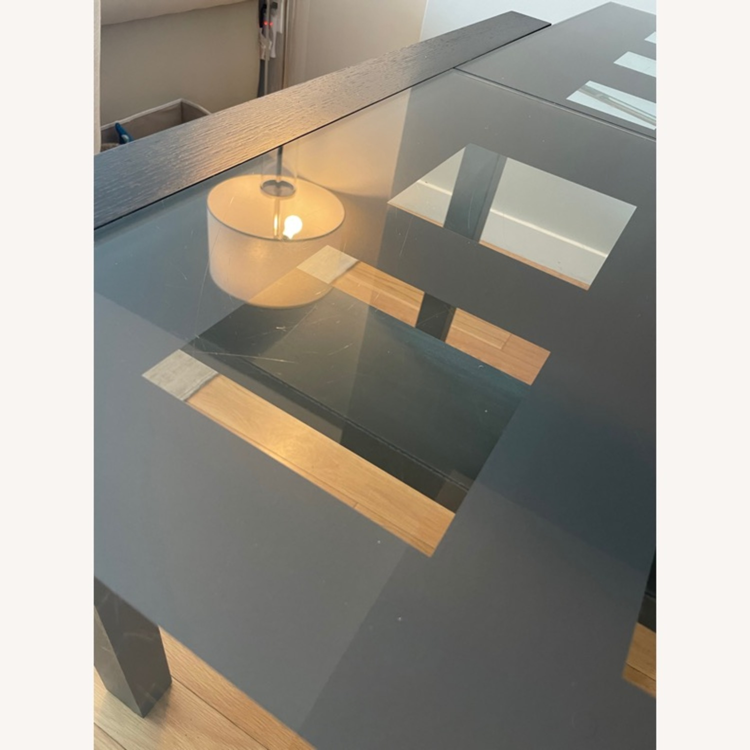 BoConcept Expandable Glass Dining Table - image-9