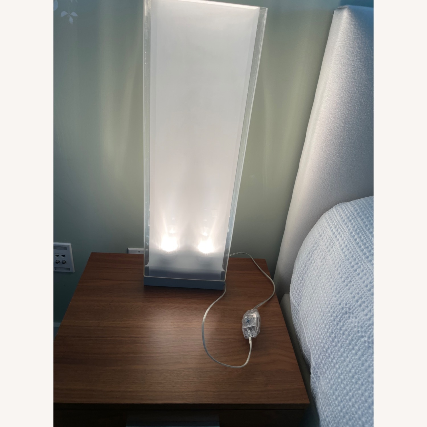 2 Matching BoConcept Halogen Table Lamps - image-3