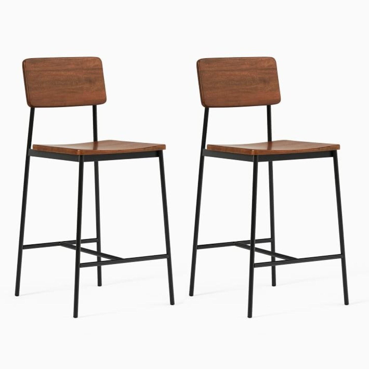 West Elm Augusta Rustic Counter Stool - image-3
