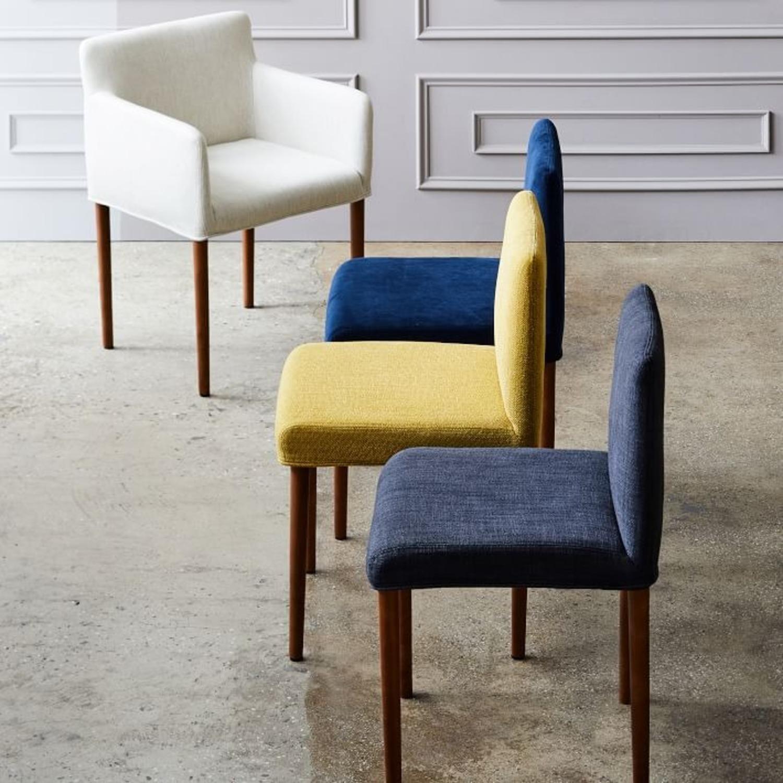 West Elm Ellis Upholstered Dining Chair - image-1