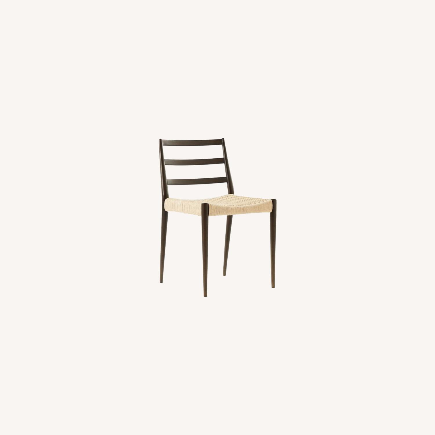 West Elm Holland Woven Dining Chair - image-0