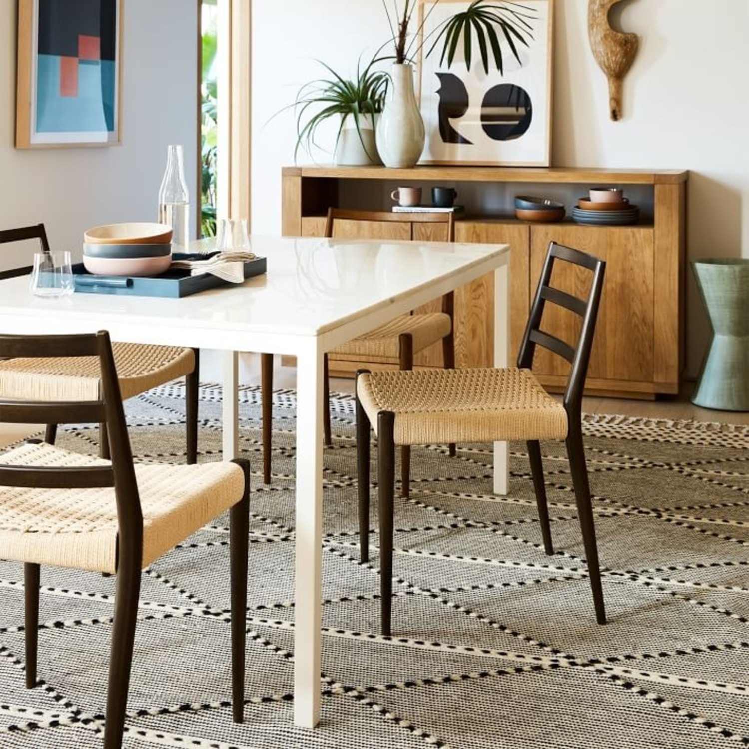 West Elm Holland Woven Dining Chair - image-2