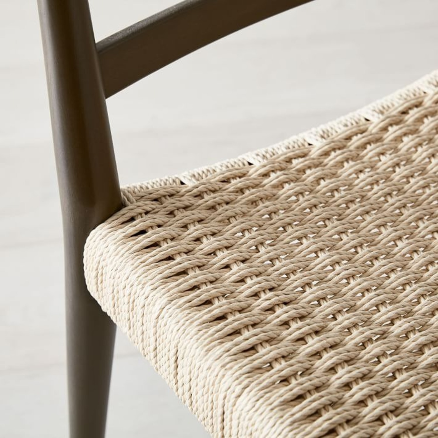 West Elm Holland Woven Dining Chair - image-1