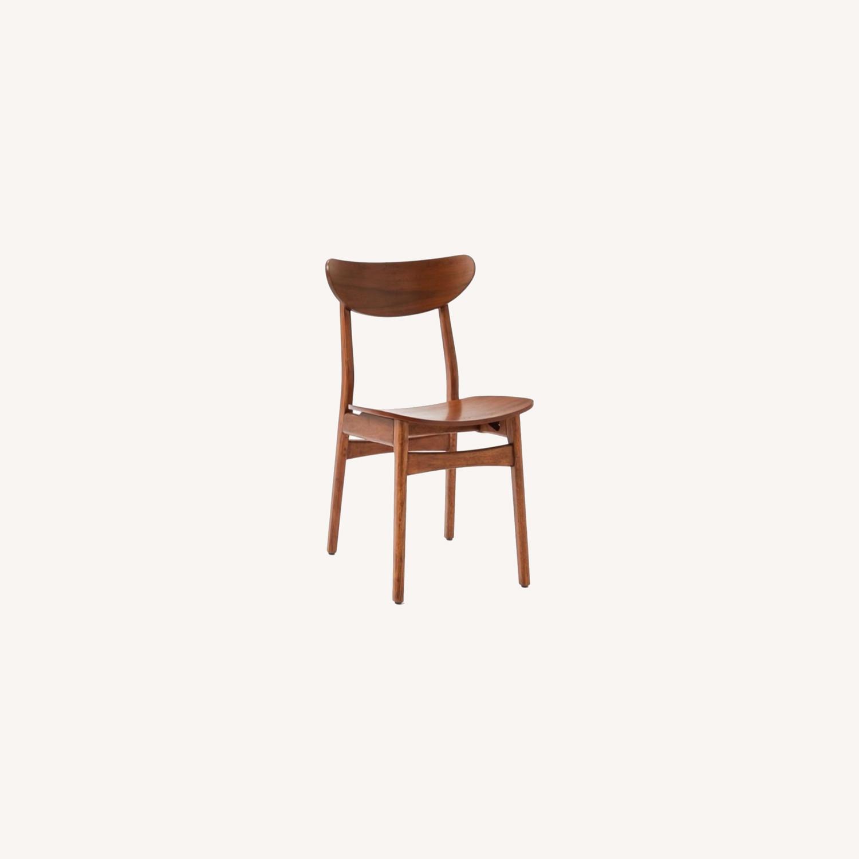 West Elm Classic Café Wood Dining Chair - image-0