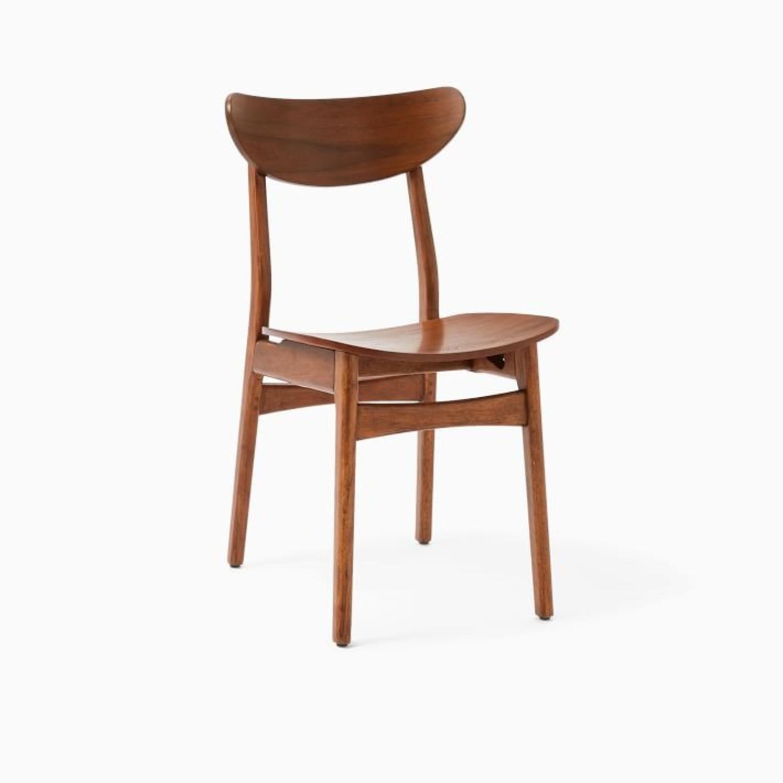 West Elm Classic Café Wood Dining Chair - image-3