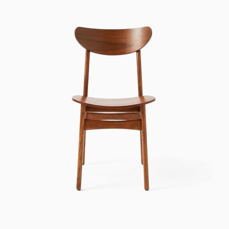 West Elm Classic Café Wood Dining Chair - image-1