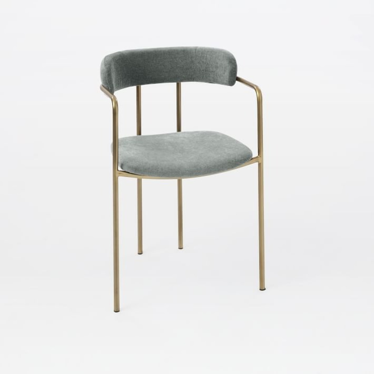 West Elm Lenox Upholstered Dining Chair - image-1