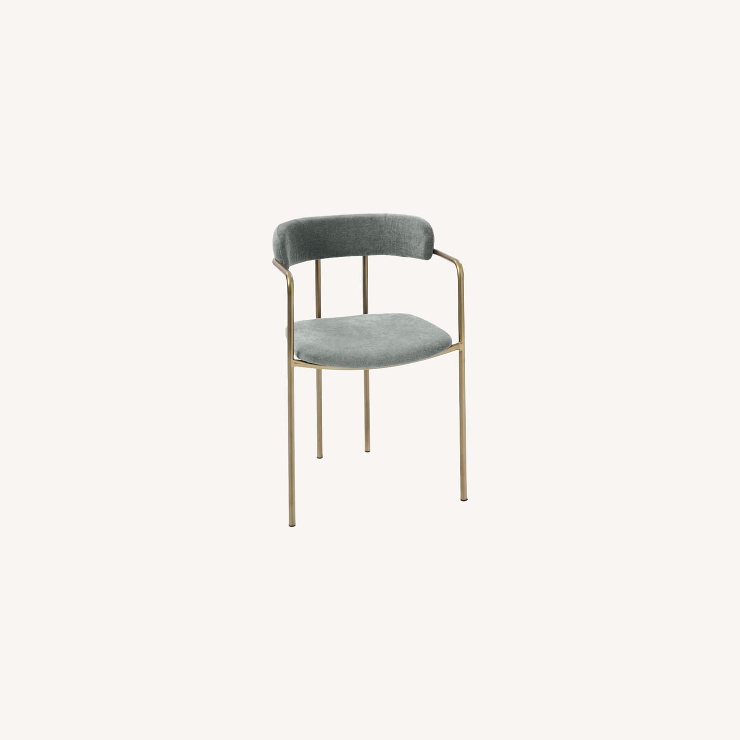 West Elm Lenox Upholstered Dining Chair - image-0