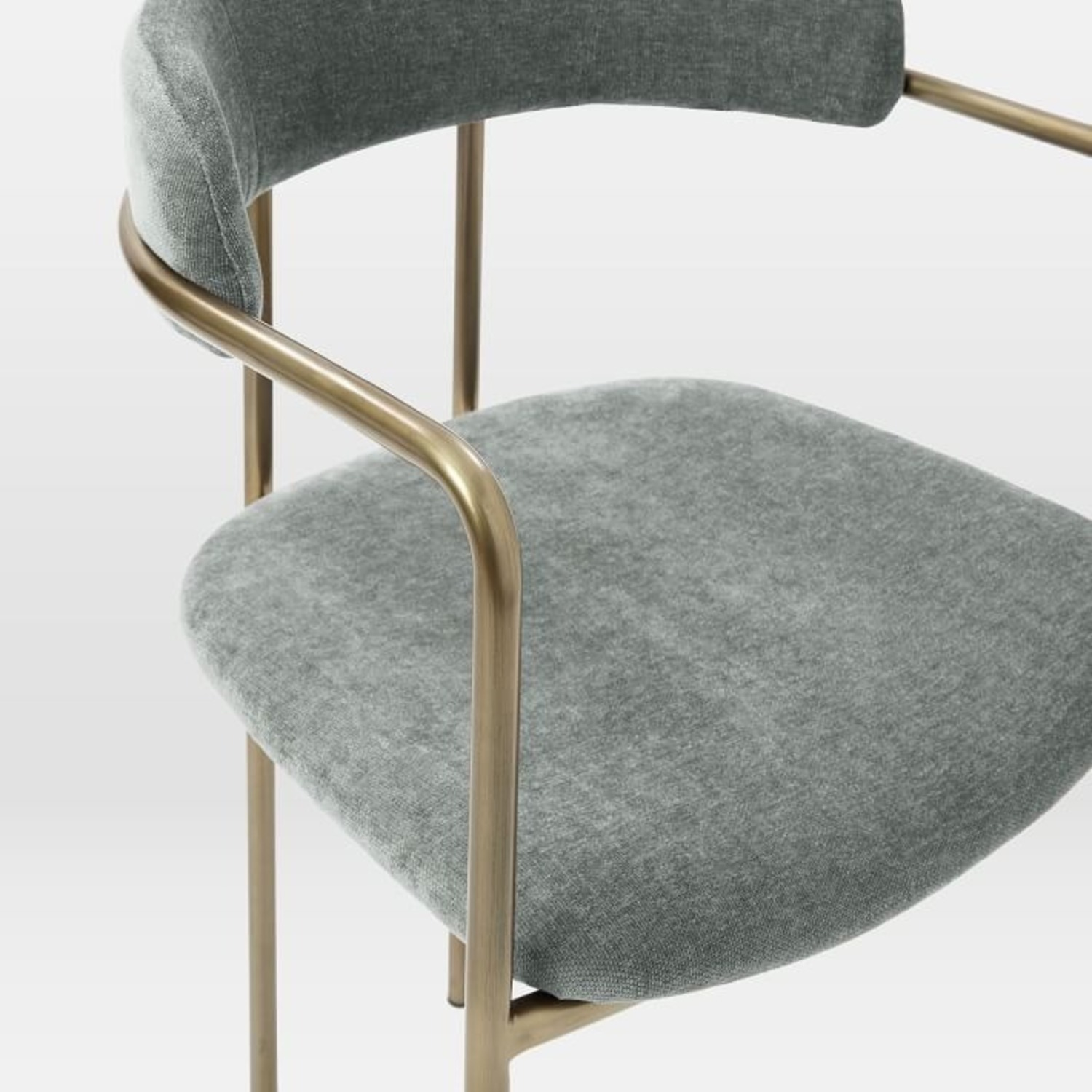 West Elm Lenox Upholstered Dining Chair - image-2
