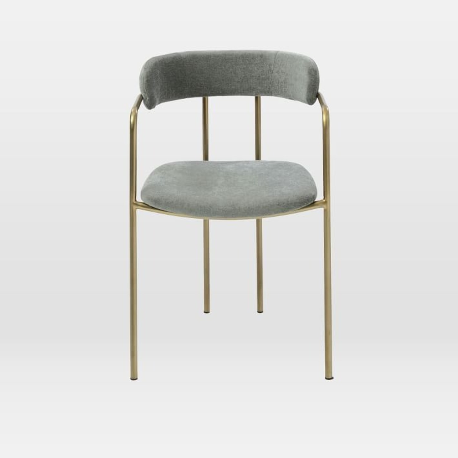 West Elm Lenox Upholstered Dining Chair - image-3