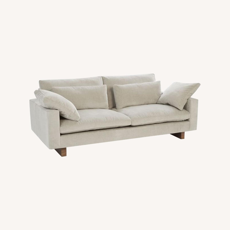 "West Elm Harmony 82"" Sofa - image-0"