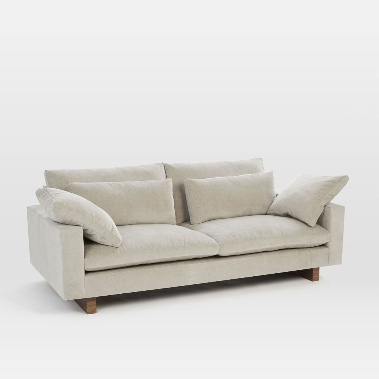 "West Elm Harmony 82"" Sofa - image-1"