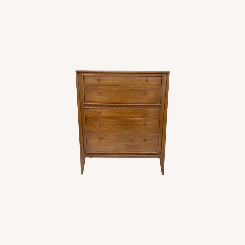 Mid-Century Modern Highboy Dresser by John Stuart - image-0