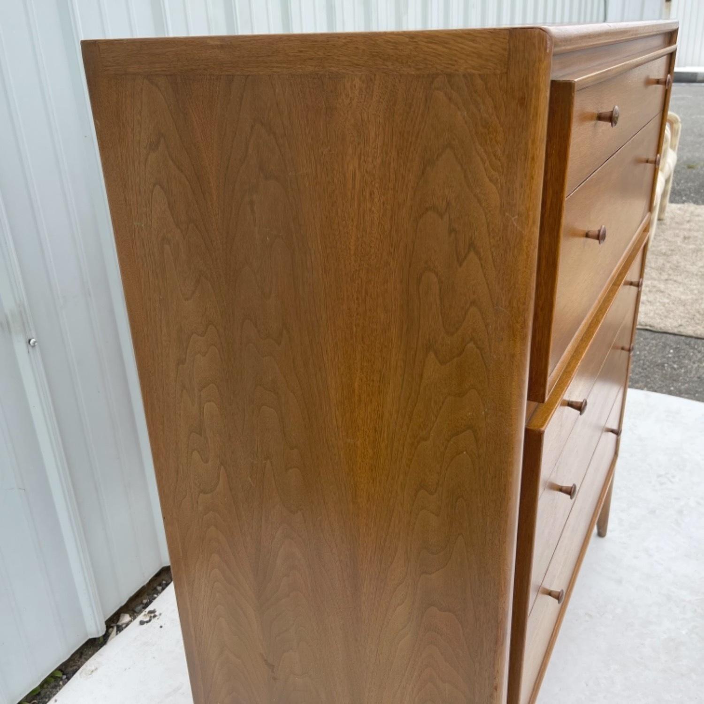 Mid-Century Modern Highboy Dresser by John Stuart - image-6