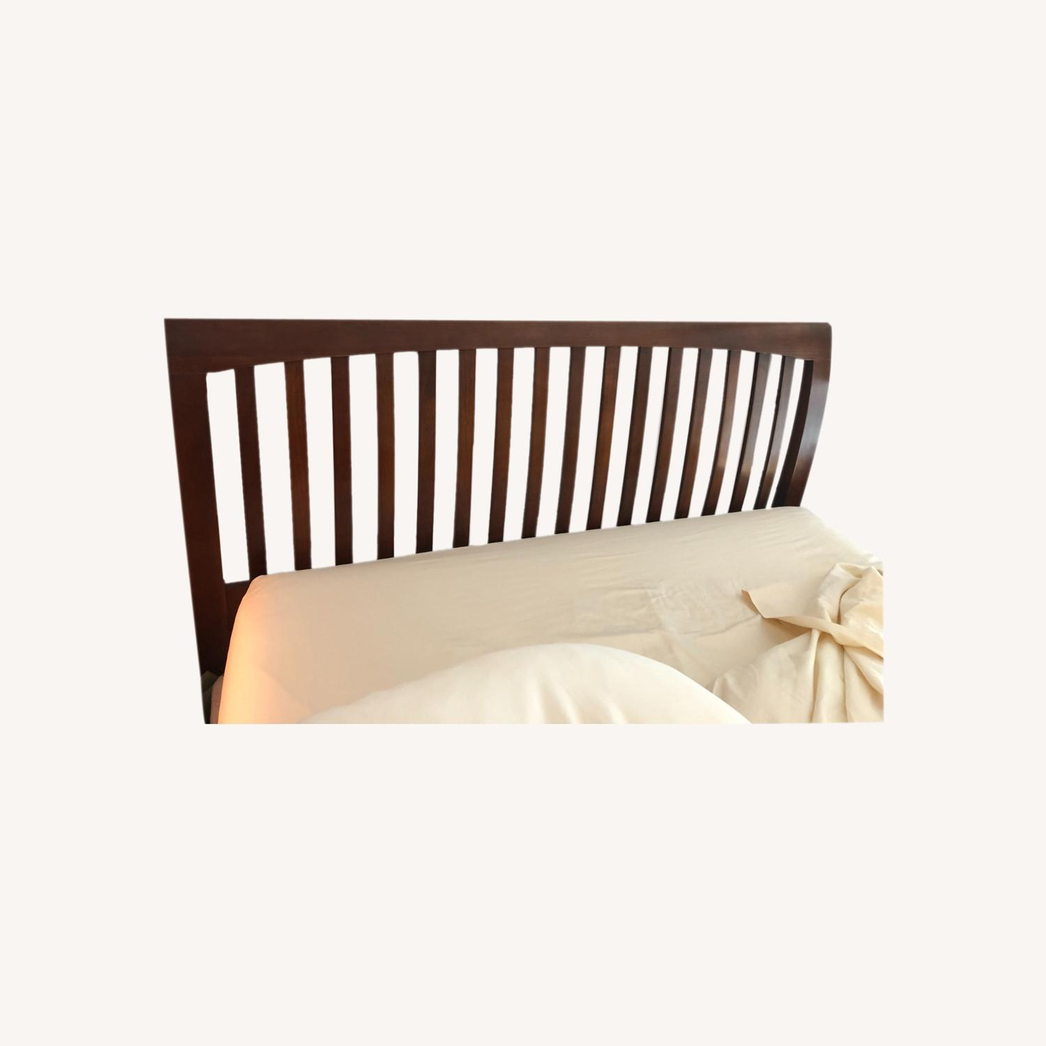 Solid Cherry Queen Sized Headboard - image-0
