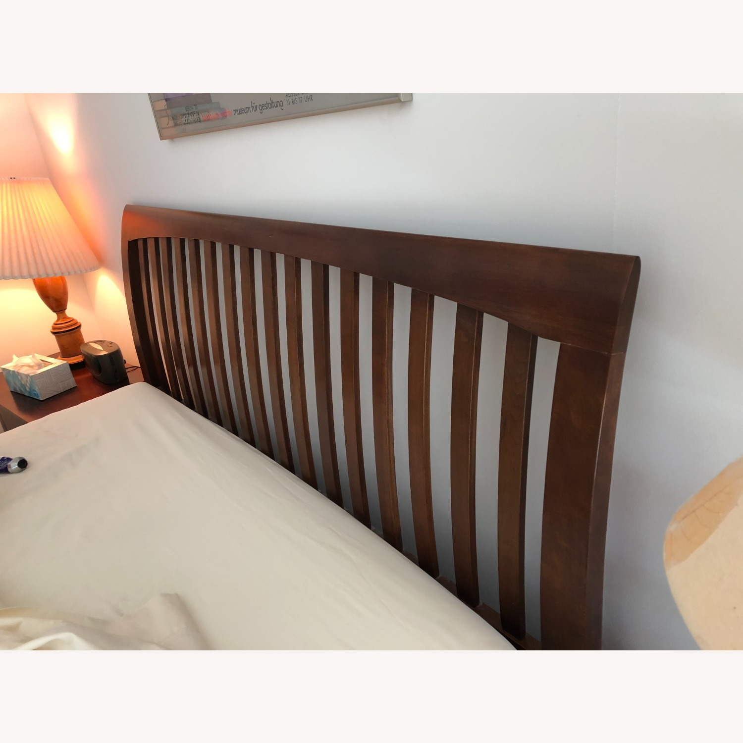 Solid Cherry Queen Sized Headboard - image-2