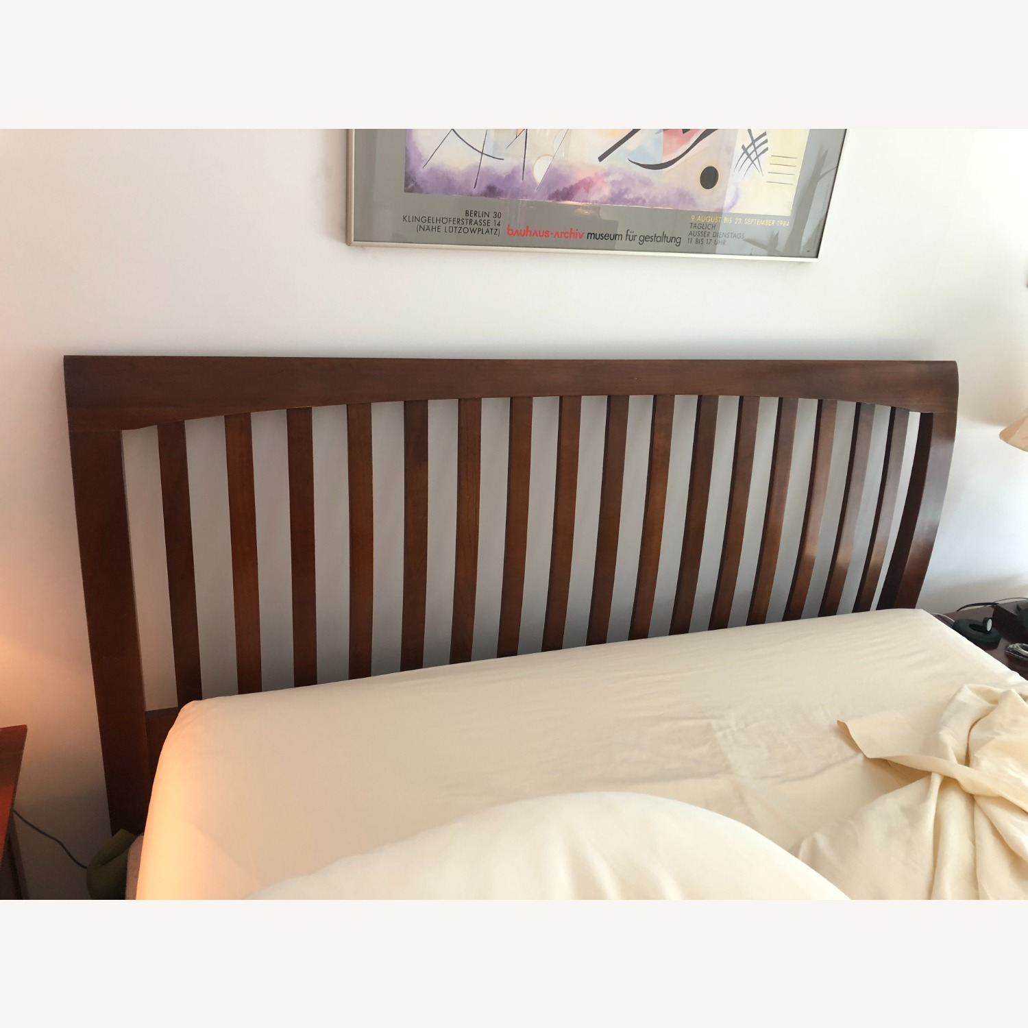 Solid Cherry Queen Sized Headboard - image-1