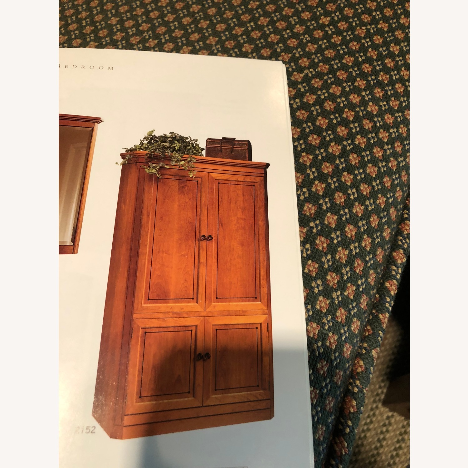 Stickley Armoire with TV and Drawers - image-3