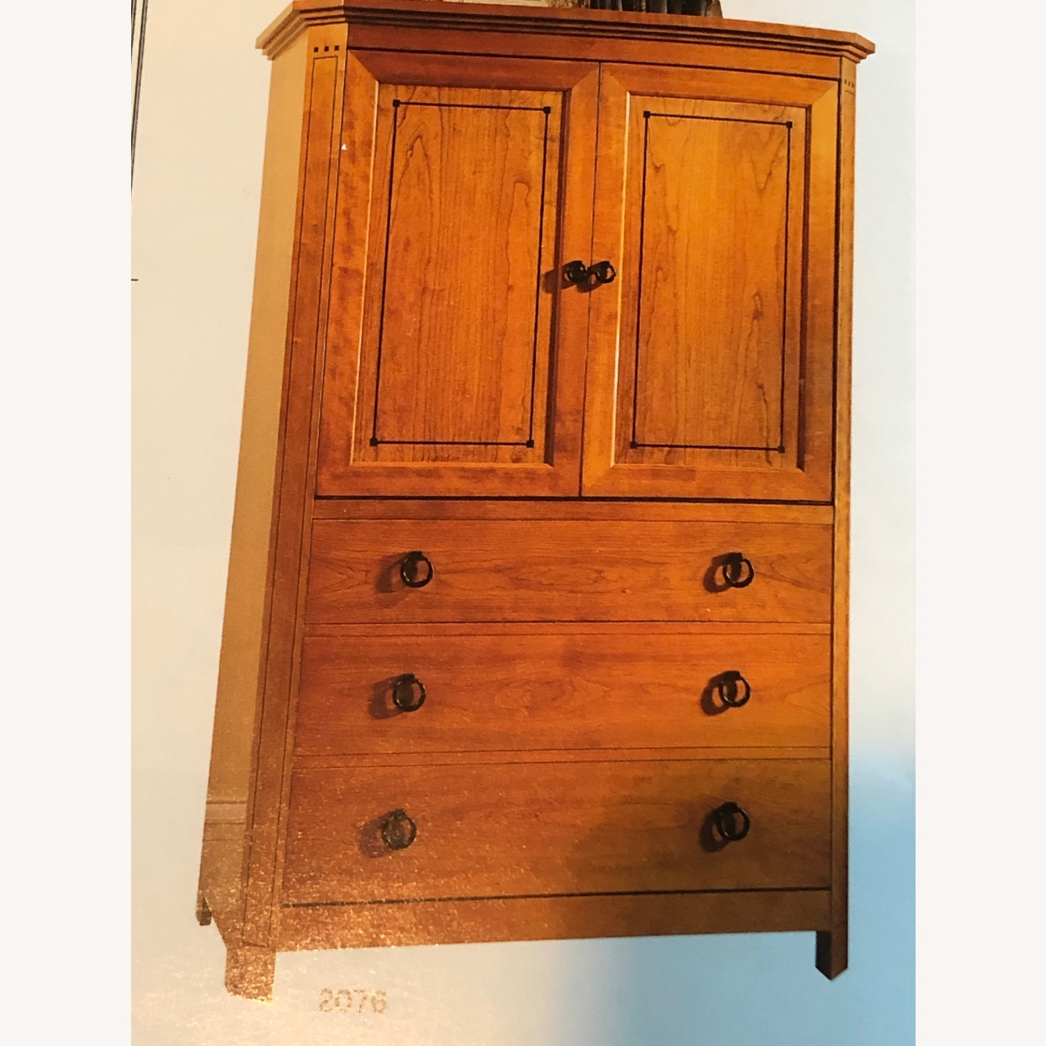 Stickley Armoire with TV and Drawers - image-1