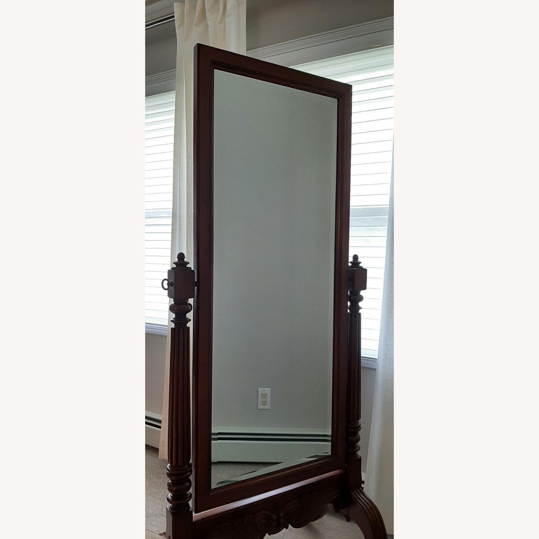 Ethan Allen Vintage Cheval Floor Mirror - image-2
