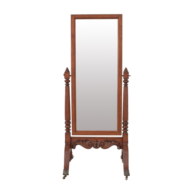 Ethan Allen Vintage Cheval Floor Mirror - image-10