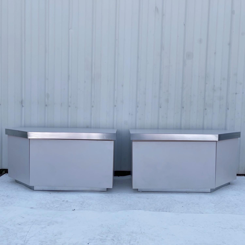 Pair Vintage Modern Nightstands - image-0