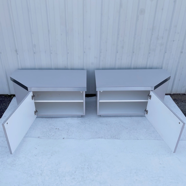 Pair Vintage Modern Nightstands - image-3