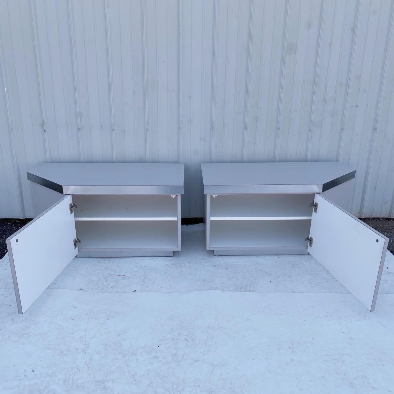 Pair Vintage Modern Nightstands - image-2