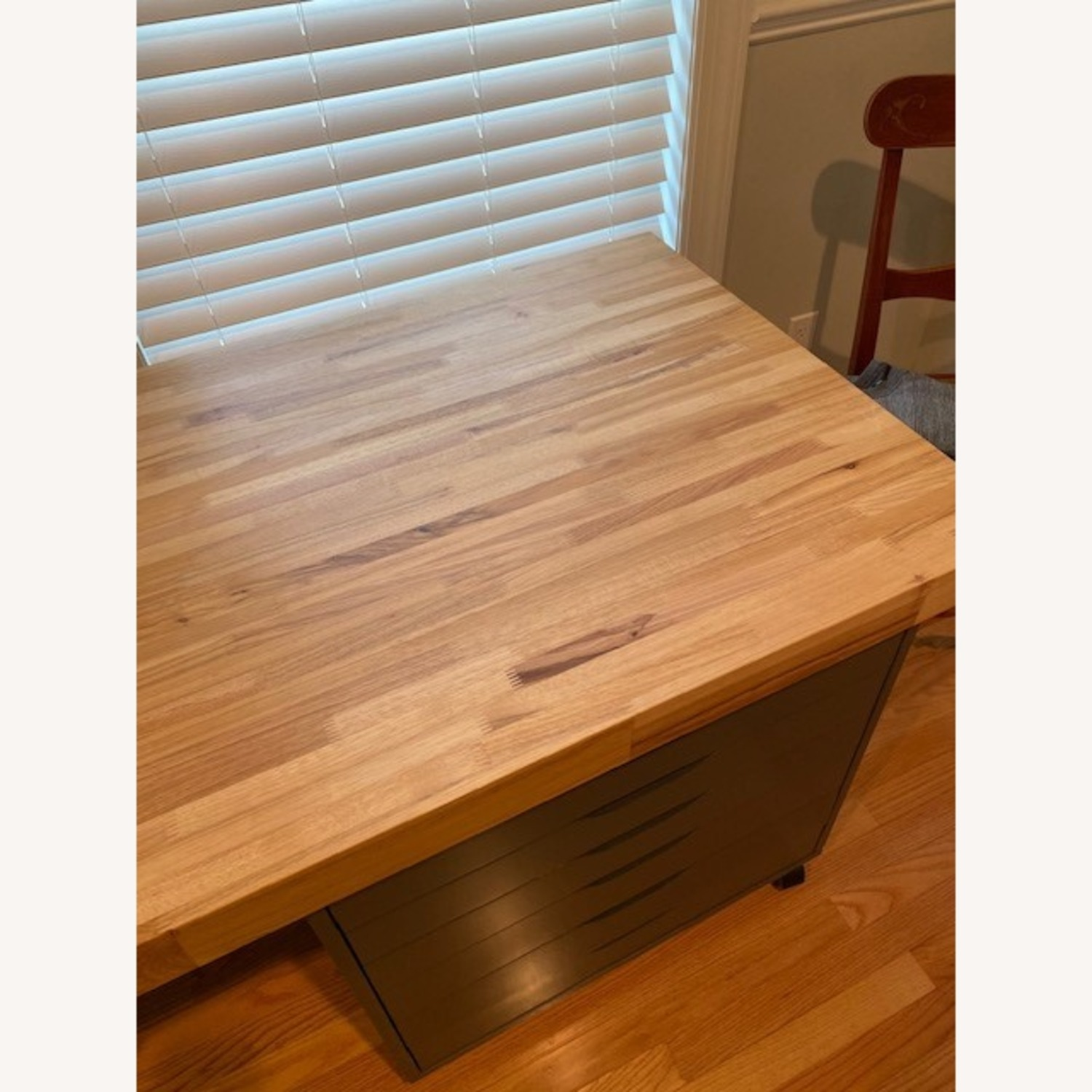 Butcher Block Countertop and Two Drawer Units - image-6