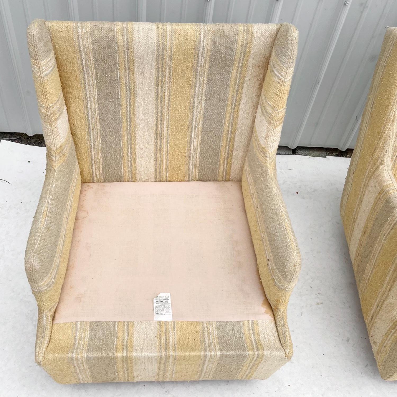 Pair Mid-Century Swivel Lounge Chairs - image-17