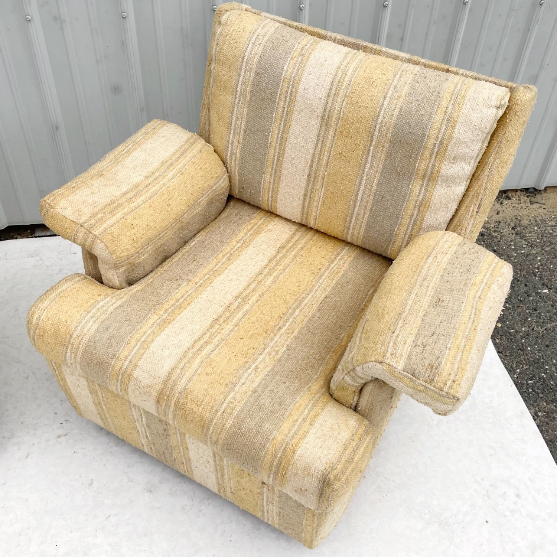 Pair Mid-Century Swivel Lounge Chairs - image-13